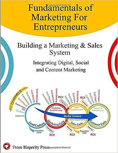 Book Fundamentals of Marketing for Entrepreneurs