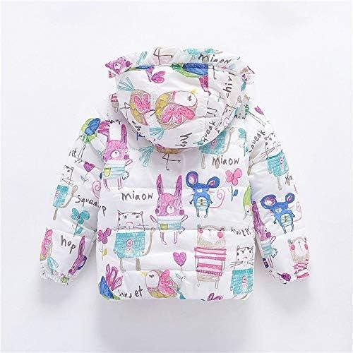 GorNorriss Baby Girl Coat Kids Winter Cartoon Cloak Jacket Thick Warm Outerwear Clothes