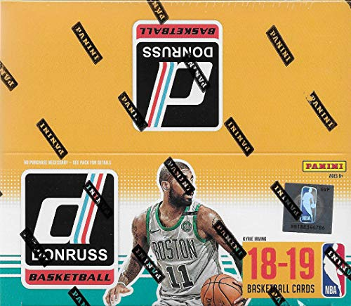 2018 2019 Donruss NBA Basketball Box of 24 Packs with One AUTOGRAPH or MEMORABILIA Card Per Box Possible Rookies and Stars Panini