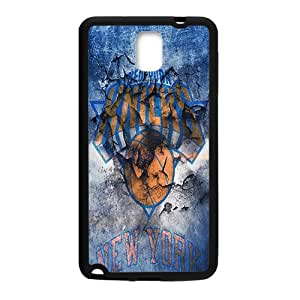 New York Knicks NBA Black Phone Case for Samsung Galaxy Note3 Case