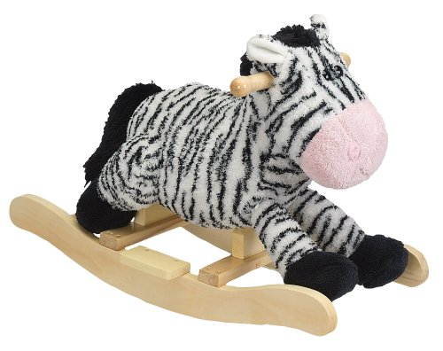 Charm Company Zany Zebra Rocker