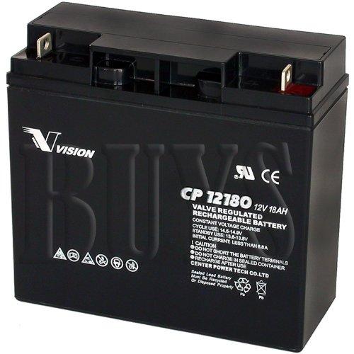 B4489GS, 193043GS, 12V18AH-X, CP12180D, CP12180X, 750400001, FM12180 Replacement Battery 12v 18ah S CP12180 Sealed AGM for Generac, Briggs & Stratton, CPE Auto, Ridgid Generators 17 ah, 17.2 ah, 17.5 ah, ()