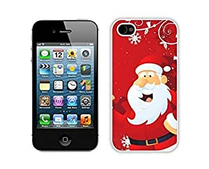 Popular Sell Santa Claus White iPhone 4 4S Case 13
