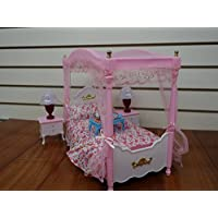 Huaheng Toys Barbie Size Dollhouse Furniture, Master Bed...