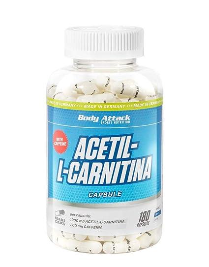 acetil l-carnitina o termogenico