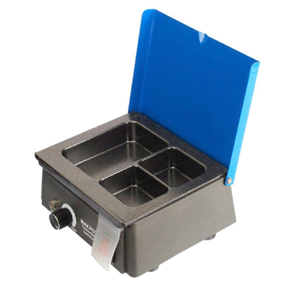 Enshey Dental Lab Equipment Analog Wax Heater Pot 3pots Waxing Dentist Instrument Automatic Temperature Control Wax Heater Dental Lab Equipment