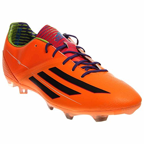 New Adidas Men's F30 TRX FG Soccer Cleats Zest/Black/Purple 8 (Soccer F30 Cleats Adidas)