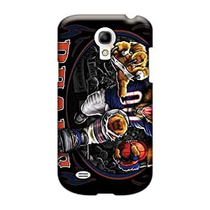 Scratch Protection Cell-phone Hard Covers For Samsung Galaxy S4 Mini With Allow Personal Design Beautiful Chicago Bears Image RobAmarook