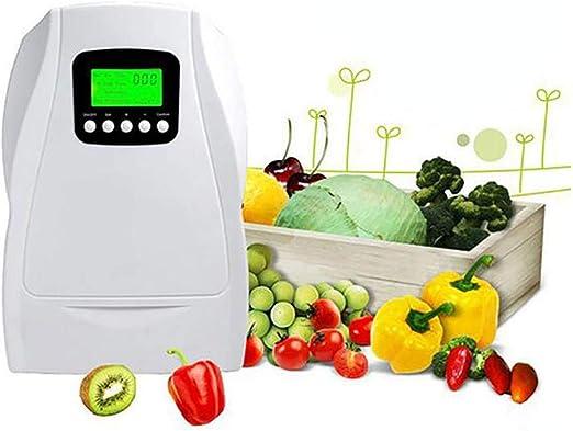 XYYMC Generador de Ozono Doméstico Digital,Ozonizador Negative Ion purificador de Aire Limpieza y desinfección ...