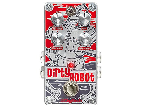 DigiTech Dirty Robot Stereo Mini-Synth Pedal by DigiTech
