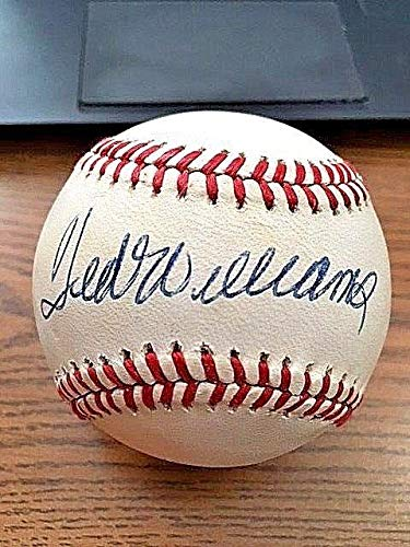 Signed Ted Williams Ball - 2 OAL ! ! Beckett! BAS! - Beckett Authentication - Autographed Baseballs (Oal Baseball Ball)