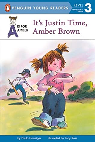 book cover of It\'s Justin Time, Amber Brown