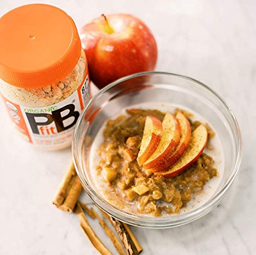 PBfit All-Natural Organic Peanut Butter Powder, Powdered Peanut Spread from Real Roasted Pressed Peanuts, 8g of Protein (30 oz.) 6