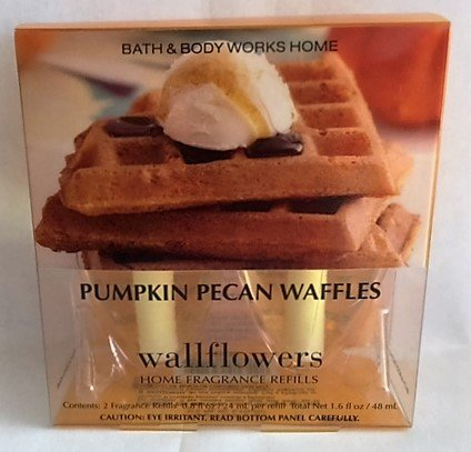 Bath & Body Works Home Pumpkin Pecan Waffles Wallflowers Fragrance Refills (2) by Bath & Body Works