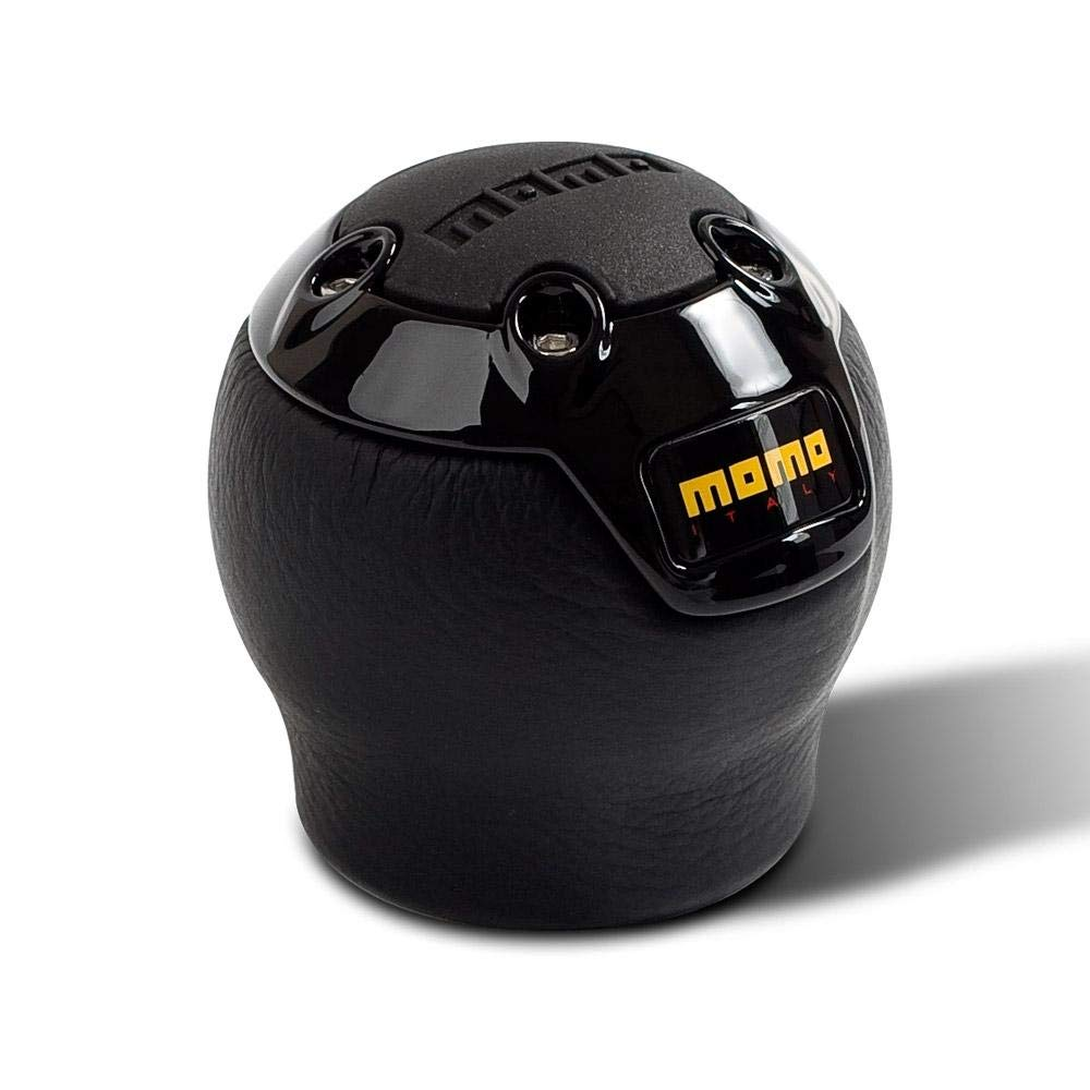 MOMO NERO Black Short Reverse Type Shift Knob PONEROBLK00SL NERBK1R