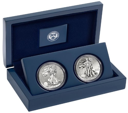 2013 American Silver Eagle West Point Two-Coin Silver Set S40