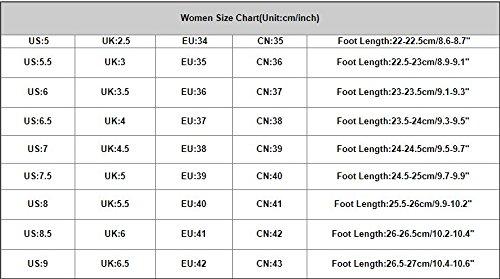 mujer tacón de Sandalias tobillo verano Negro alto alto para Zapatos de tacón mujer Sandalias de LMMVP de Zapatillas plataforma hebilla de de mujer de de RpTPw