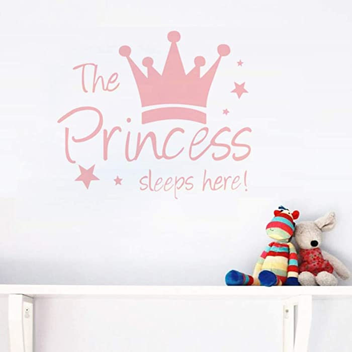 The Best Princess Sleeps Here Wall Decor
