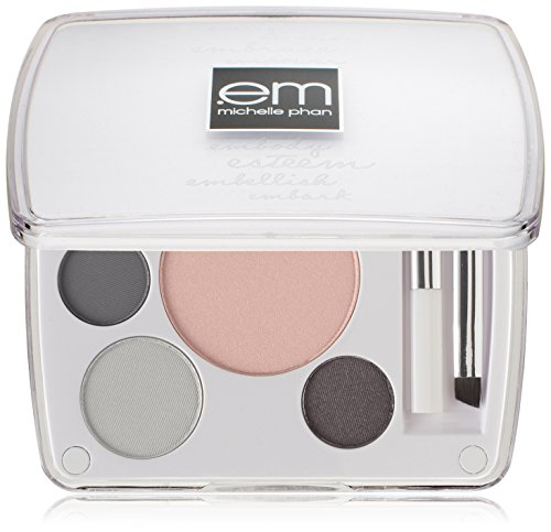 em michelle phan Shade Play Artistic Eye Color Palette, New York City Smokeys