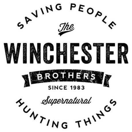 Supernatural Winchester Brothers Halloween Horror Vinyl Decal Bumper Computer Sticker Cling Scary -