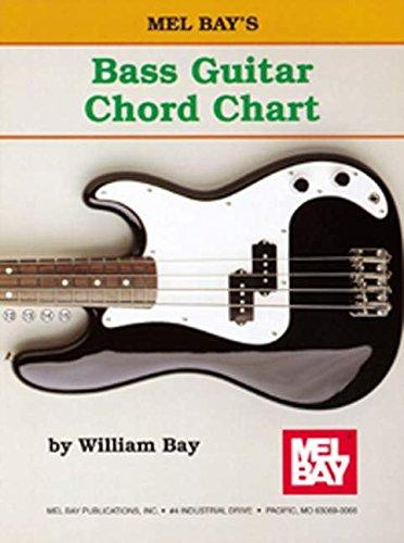 Mel Bay Bass Guitar Chord Chart: William Bay: 9780871667786: Amazon ...