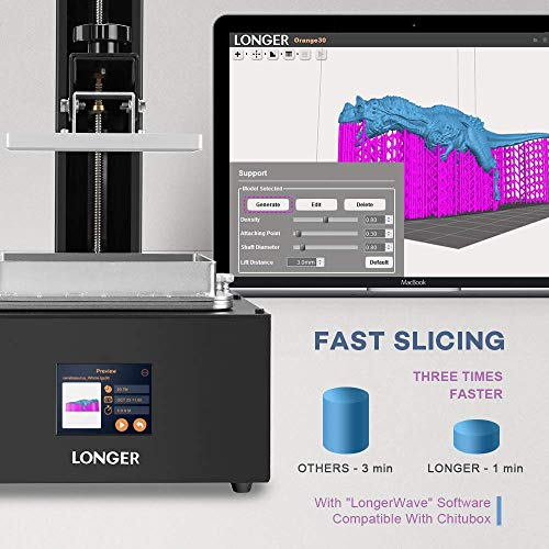 Seeed Studio Longer Orange 30 Impresora 3D, Resina Actualizada SLA ...