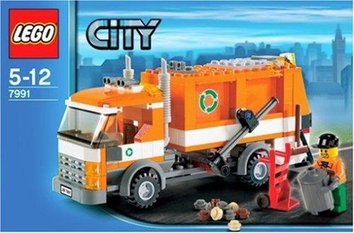 Lego City 7991 Garbage Truck Amazon Toys Games