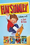 img - for Flat Stanley 4 Books in 1!: Flat Stanley, His Original Adventure; Stanley, Flat Again!; Stanley in Space; Stanley and the Magic Lamp book / textbook / text book