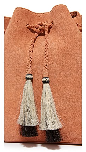 Natural Drawstring Embossed Hair LOEFFLER Horse Leather RANDALL Black Nude Tassels Python Desert Hobo pAxPPw46qf