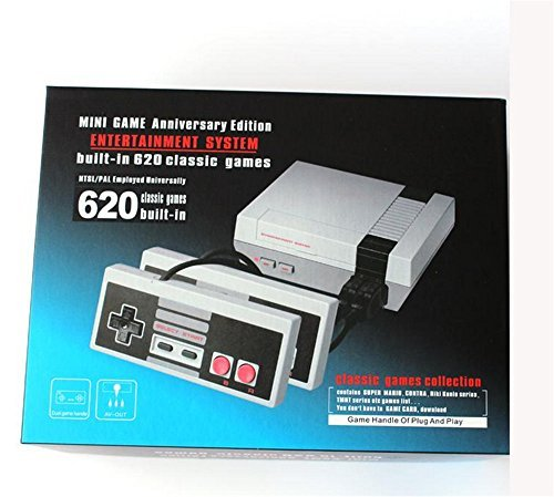 Mini TV Video Handheld Game Console Video Games Consoles Built-in 500/620 Classic Games For Nes Classic Games PAL&NTSC (620 - Handheld Games 100