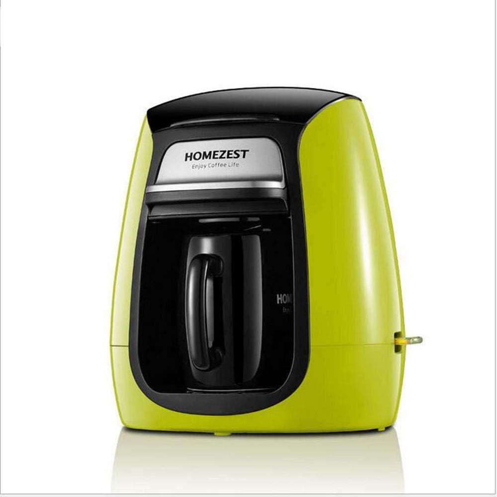 Cafetera eléctrica totalmente automático verde: Amazon.es: Hogar