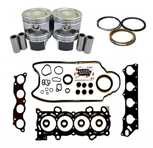 (Diamond Power Full Gasket Kit Set Piston Ring works with Honda CR-V VTEC 2.4 L)
