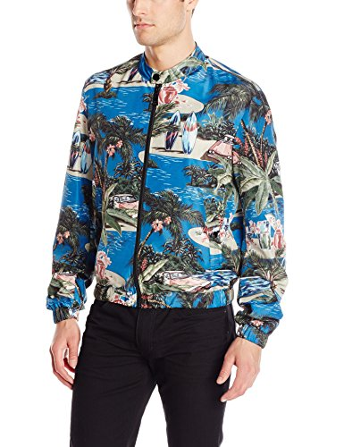 Just-Cavalli-Mens-Printed-Bomber-Jacket