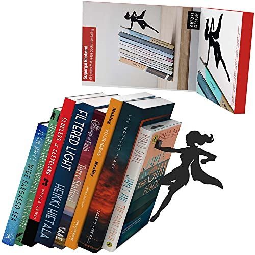 sujeta libros decoracion edicion superheroina