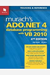 Murach's ADO.NET 4 Database Programming with VB 2010 Paperback
