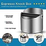 Coffee Knock Box - HEIHOX Espresso Knock Box