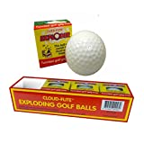 JP Lann Golf Cloud Flite Exploder Golf Ball (4-Pack), White, Standard Size
