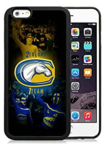 Beautiful Designed With NCAA Big Sky Conference Football UC Davis Aggies 8 Protective Cell Phone Hardshell Cover Case For iPhone 6 4.7 Inch TPU Phone Case Black