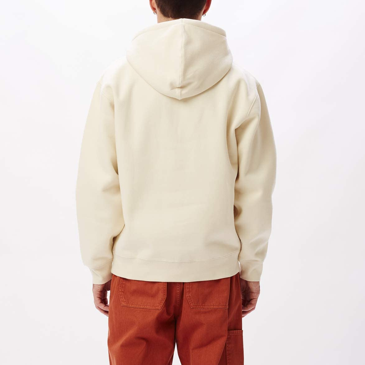 Obey Curtis Herern Hoodie Sweater Kapuzenpullover beige Natural Natural