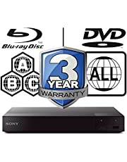 Sony BDP-S6700 region free Multi All Zone Blu-ray player 4k Upconversion 3D smart wifi