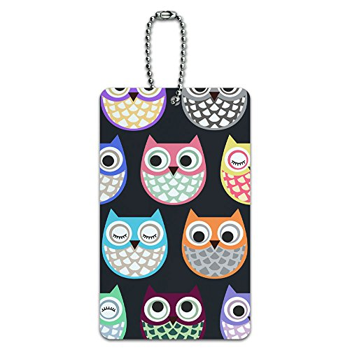 Cute Owls Pattern Suitcase Carry
