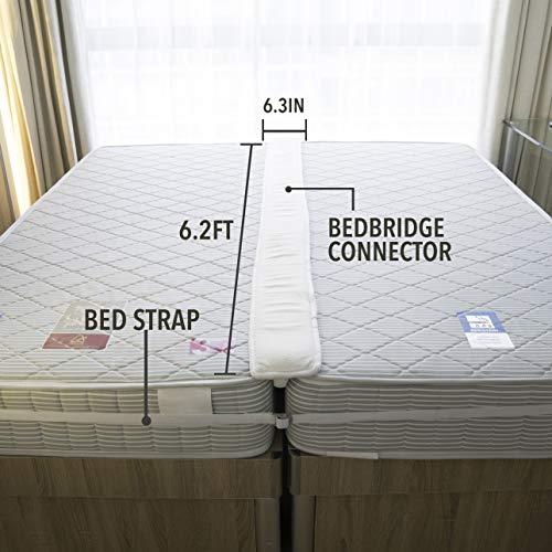 Premium Bed Bedding Accessories Bridge Twin To King Converter Kit Gap Filler Amp Ebay
