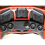 Can Am X3 Stereo Radio Sound Bar Kicker 4 speaker CAN AM CAX3RBKICKER