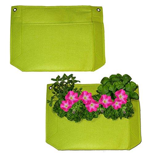 1 Pocket Vertical Garden Planter – Living Wall Planter – Vertical Planters – For Outdoor & Indoor Herb, Vegetable, & Flower Gardens