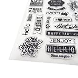Honbay 6 Sheets Different Theme Friendly Phrases