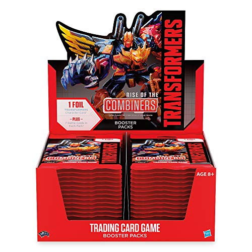 Transformers TCG: Rise of The Combiners Booster Box | 30 Booster Packs | 8 Transformers Cards Per Booster Pack