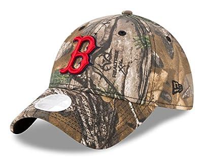 Boston Red Sox Women's New Era Realtree 9TWENTY Adjustable Hat/Cap by New Era