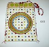 Multicolored polka dotted purse #3 157/1212