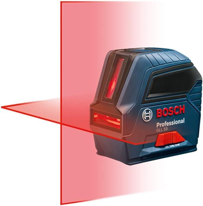 Bosch Self-Leveling Cross-Line Red-Beam Laser Level