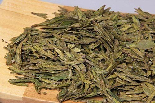 Long Jing Green tea from China, Dragon Well premium grade loose leaf bag packing total 24 Ounce (680 grams) by JOHNLEEMUSHROOM RESELLER (Image #1)